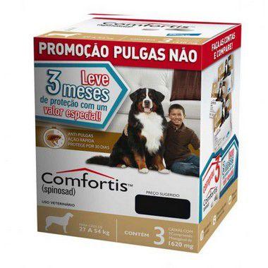 Combo Comfortis 1620mg  para Cães de 27-54 Kg