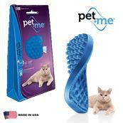 Escova Massageadora para Gatos Pelo Curto