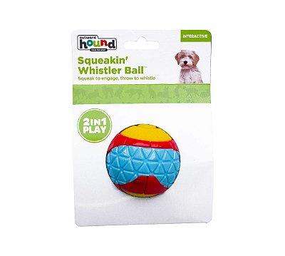 Bola para Cães com Apito e Multi Texturas
