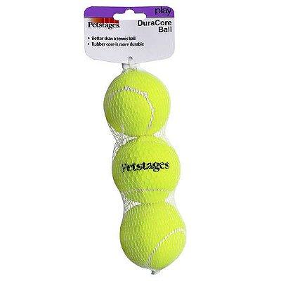 Kit com  3 Bolas de Tênis Resistentes