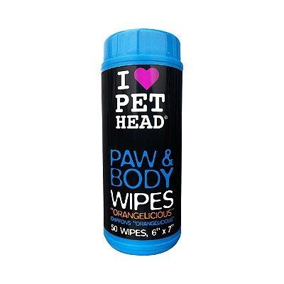 Pet Head Lenços Umedecidos para Cães