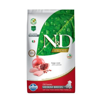 N&D Prime Frango  Puppy Medium 2,5kg