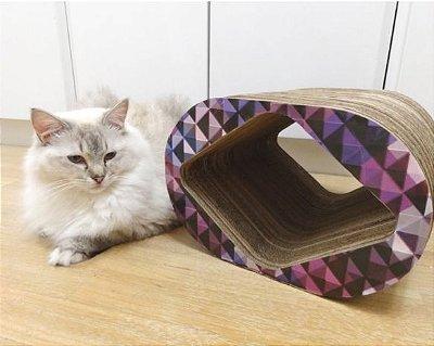Cat Box Mini - Quadriculado