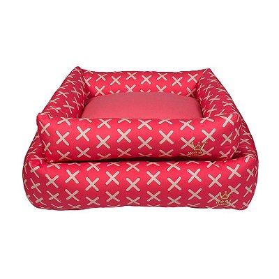 Cama Retangular Basic Pink