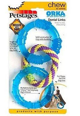 Brinquedo Anéis Orka Dental Links