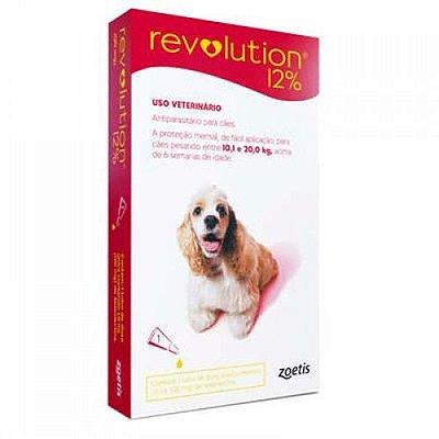 Revolution 12% para Cães 10,1a 20,0kg
