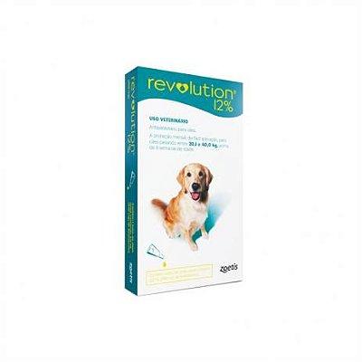 Revolution para Cães 20,1 a 40Kg