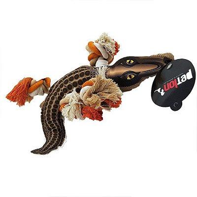 Brinquedo de Lona Crocodilo