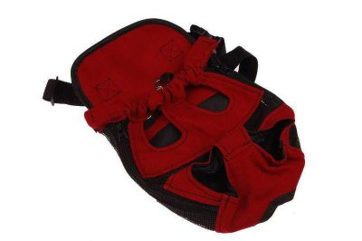 Bolsa Mochila Canguru Vermelha Large