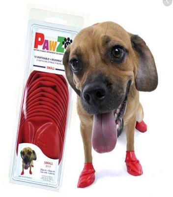 Botas Para Cachorros Pawz S Vermelho (4 unid)
