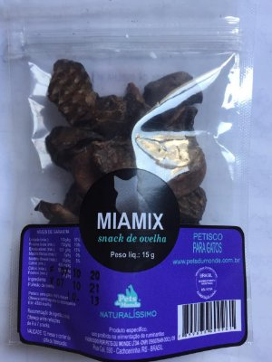 Snack de Ovelha Miamix 15gr