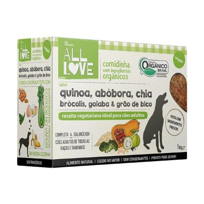 Comidinha Orgânica para Cães Veggie 1kg