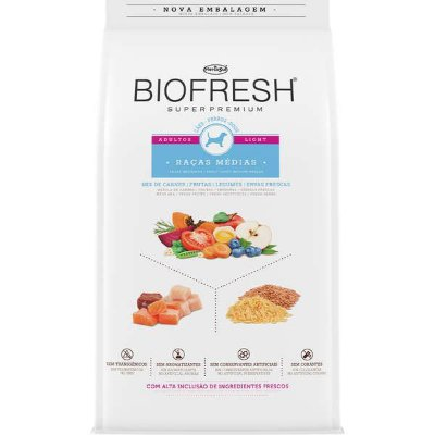 Biofresh Adulto Light  Raças Médias