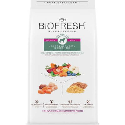 Biofresh Adulto Light  Raças Grandes e Gigantes