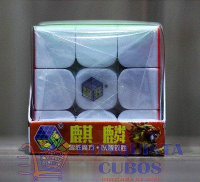 CUBO MÁGICO 3X3X3 YUXIN KILIN STICKERLESS (COLORIDO)