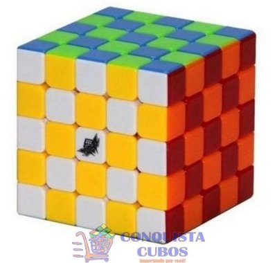 CUBO MÁGICO 5X5X5 CYCLONE BOYS G5 STICKERLESS (COLORIDO)