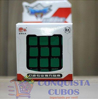 CUBO MÁGICO 5X5X5 CYCLONE BOYS PRETO PROFISSIONAL