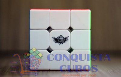 CUBO MÁGICO 3X3X3 CYCLONE BOYS FEICHI STICKERLESS (COLORIDO)