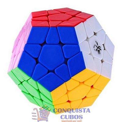 MEGAMINX DAYAN STICKERLESS (COLORIDO) DODECAHEDRO MÁGICO