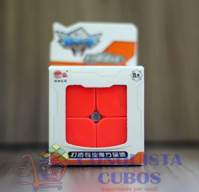 CUBO MÁGICO 2X2X2 CYCLONE BOYS FEICHANG STICKERLESS (COLORIDO)