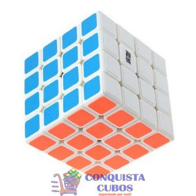 CUBO MÁGICO 4X4X4 MOYU AOSU BRANCO