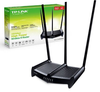 Roteador Wireless N 450Mbps High Power
