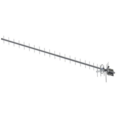 ANTENA CELULAR RURAL PROELETRONIC DUAL BAND 850/900 MHZ 20DBI