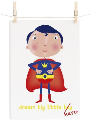 POSTER SUPER BIG HERO