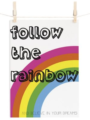 POSTER RAINBOWN DREAMS