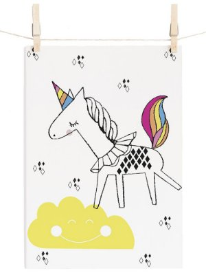 POSTER I BELIEVE IN UNICORNS - BRIGHT