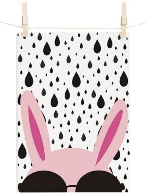 POSTER FASHION RABBIT
