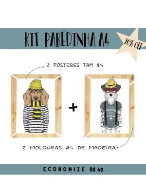 KIT PAREDINHA NERDOGS A4