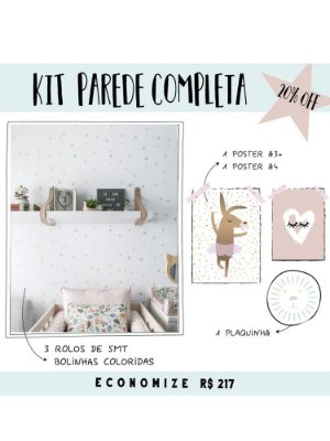 KIT PAREDE COMPLETA