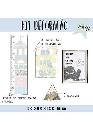 KIT DECORAÇÃO CANDY