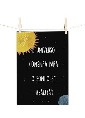 POSTER MYSTICONA O UNIVERSO CONSPIRA