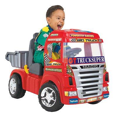 Caminhão Big Truck Elétrico C/ Som e Luz - Magic Toys