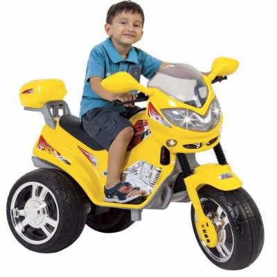 Moto Elétrica Infantil MT Speed Amarela 6V - Magic Toys