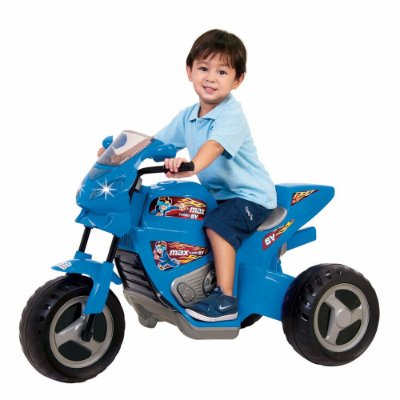Moto Elétrica Infantil Max Turbo 6V Azul - Magic Toys
