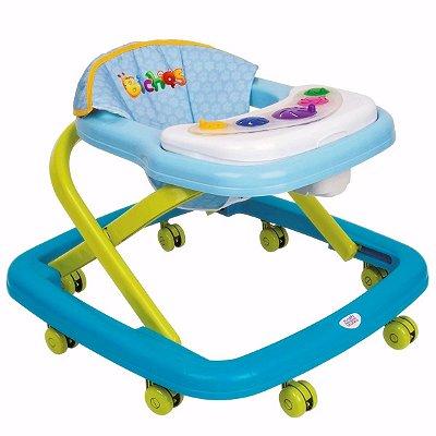 Andador Infantil Para Bebê Azul - Magic Toys