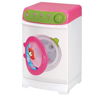 Maquina de Lavar Infantil Super Eletrônica - Magic Toys