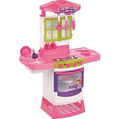 Cozinha Infantil Mágica Super Eletrônica - Magic Toys