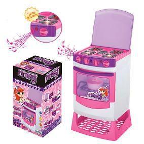 Fogão Infantil Master Chef Eletrônico C/ Som e Luz - Magic Toys