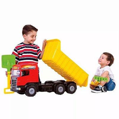 Caminhão Super Caçamba 5050 - Magic Toys