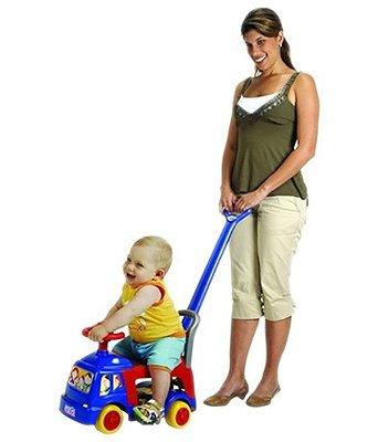 Andador Infantil 4 em 1 Azul - Magic Toys