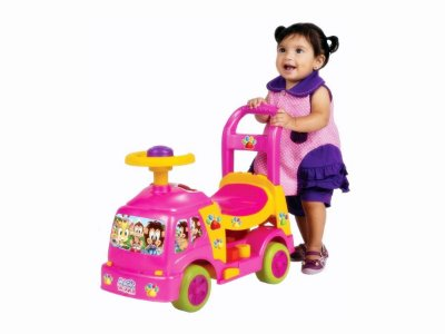 Andador Bichos Rosa C/ Aro - Magic Toys