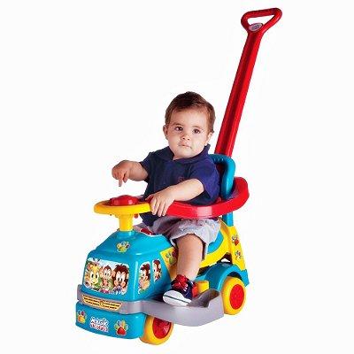 Andador Bichos Azul C/ Aro - Magic Toys