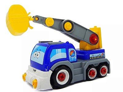 Carrinho Coleção Big X Truck Escavadeira - Homeplay