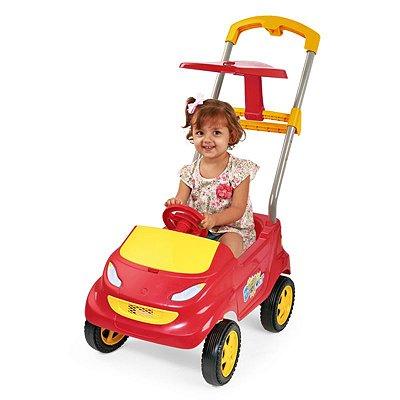 Carrinho de Passeio Infantil Baby Car Vermelho - Homeplay