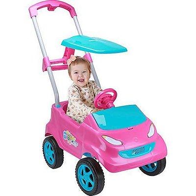 Carrinho de Passeio Infantil Baby Car Pink - Homeplay
