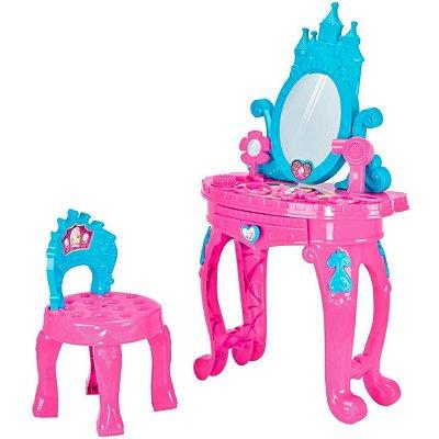 Penteadeira da Princesas Infantil Rosa - Homeplay